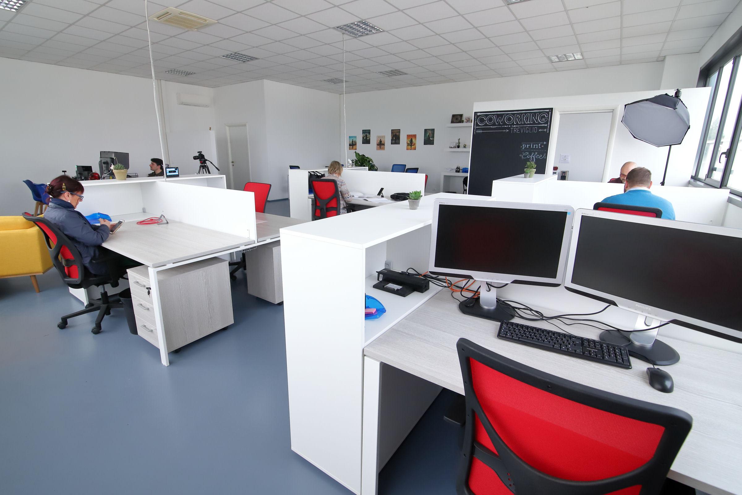 Spazio di coworking a Treviglio per liberi professionisti