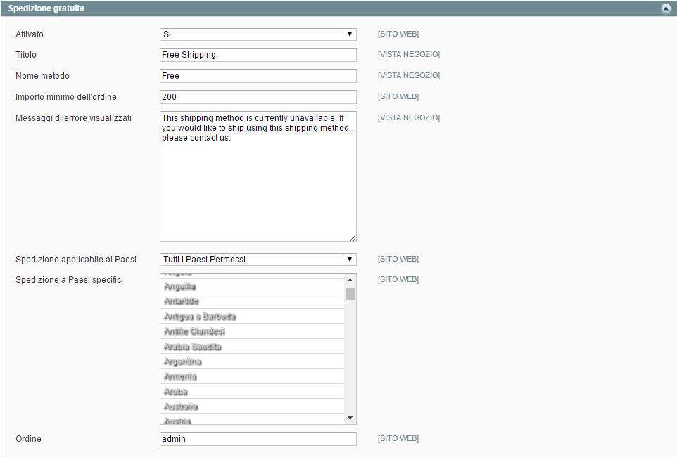 Database codici avviamento postale CAP italiani per Magento e Shopify