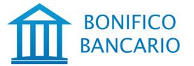 Pagamento con bonifico bancario